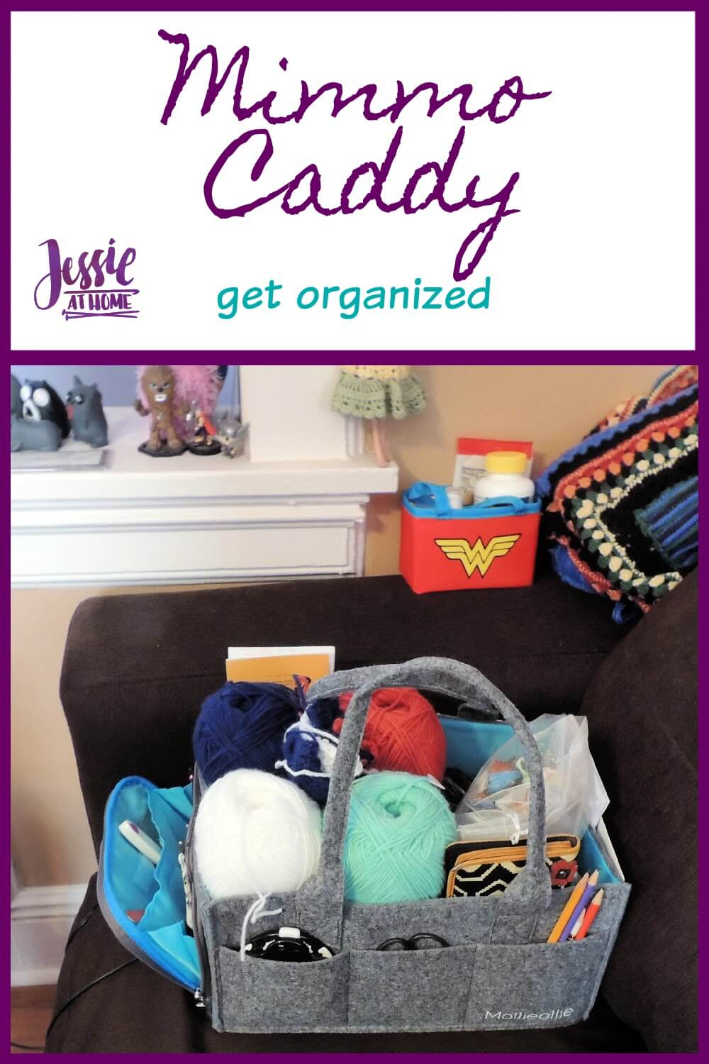 Mimmo Caddy from Mollie Ollie review by Jessie At Home - Pin 1