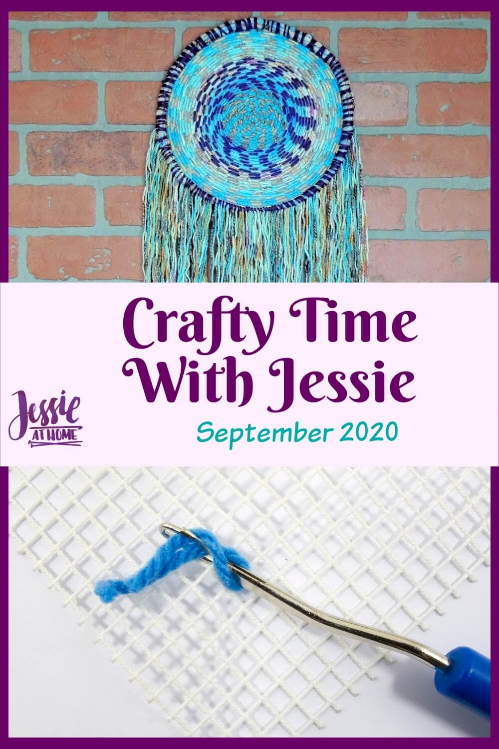September 2020 Crafty Time with Jessie At Home - Here we go again