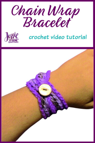 Chain Wrap Bracelet Tutorial by Jessie At Home - Pin 1