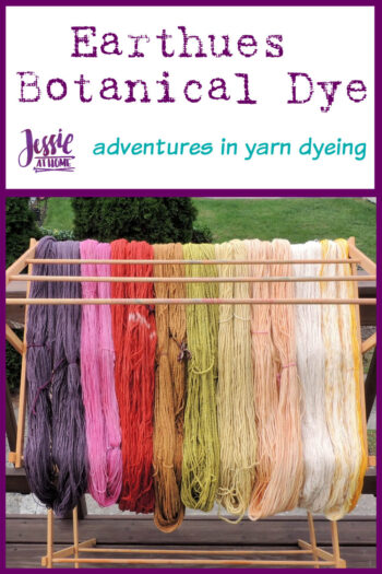 Earthues Botanical Dye for Dyeing Yarn by Jessie At Home - Pin 1