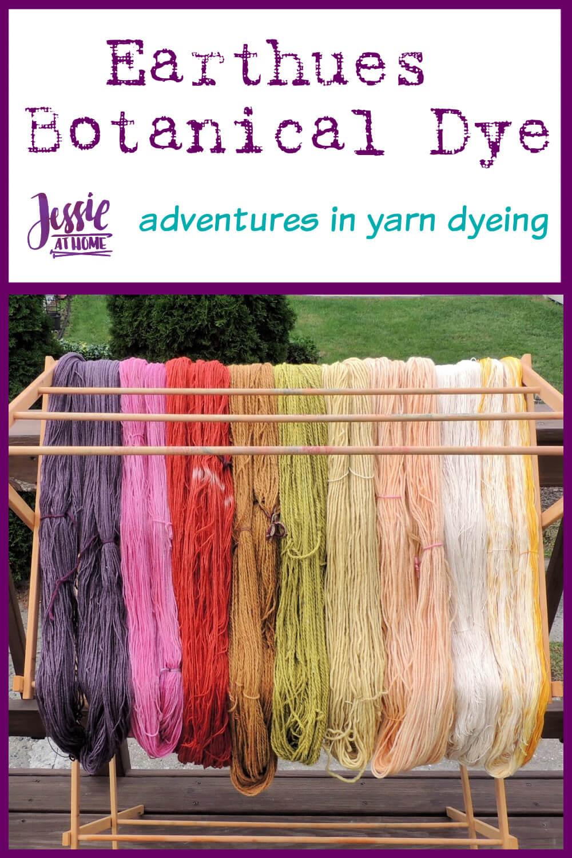 Earthues Botanical Dye for Dyeing Yarn - Adventures in Yarn Dyeing