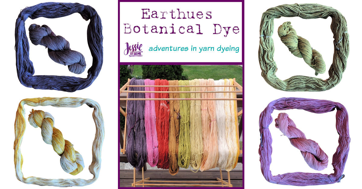 Earthues Botanical Dye for Dyeing Yarn by Jessie At Home - Social