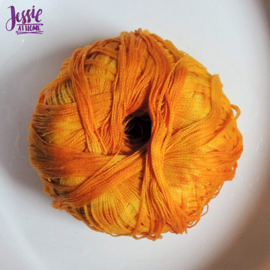Earthues Botanical Dye for Dyeing Yarn by Jessie At Home - What an Impressive Golden Yellow