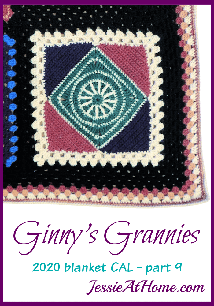 Ginny\'s Grannies CAL Part 9 - We\'re starting the border!