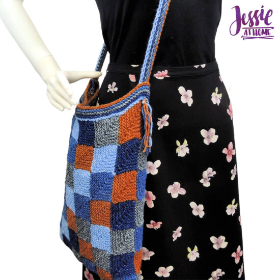 Jean Dreams Tote knit pattern by Jessie At Home - 1