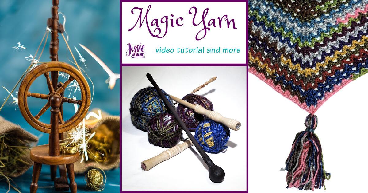 Magic Yarn Stitchopedia Tutorial by Jessie At Home - Social