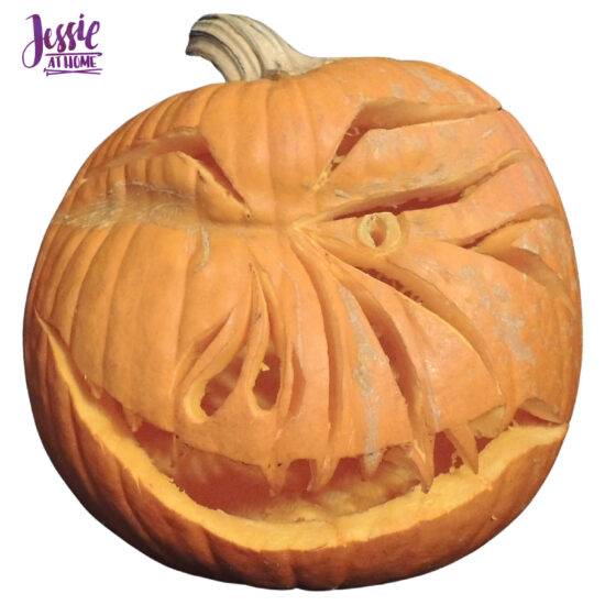 National Pumpkin Day and Fun with Felt by Jessie At Home - One Eyed Joe