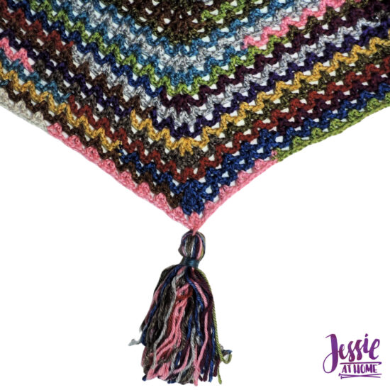Penny Poncho crochet pattern by Jessie At Home - 5