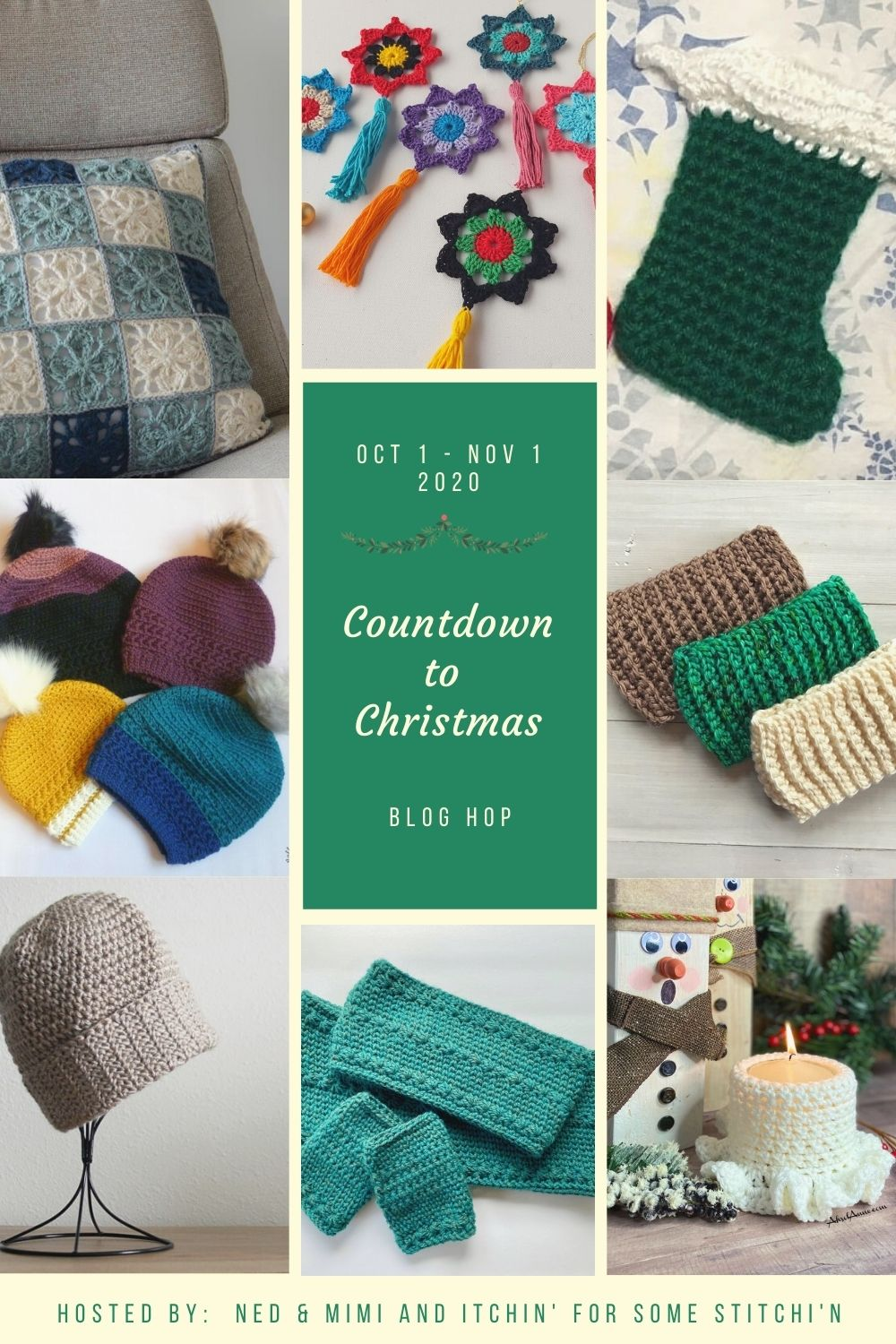 Countdown to Christmas Blog Hop: Free Crochet Patterns, Giveaway, and a Bundle of Fun!