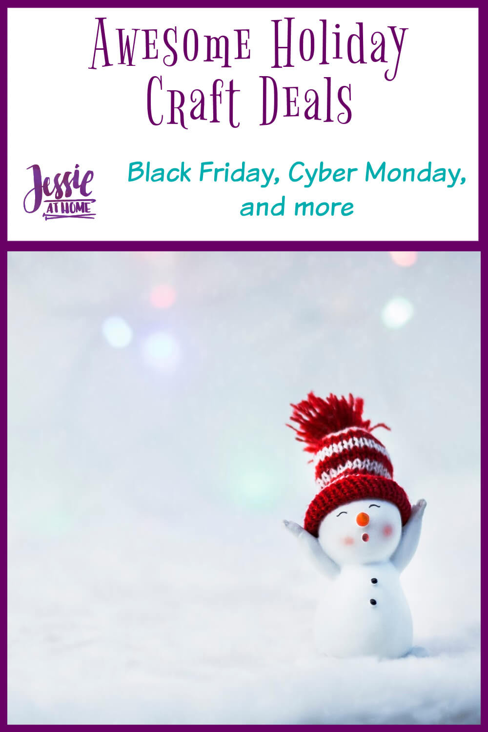 Awesome Holiday Craft Deals compiled by Jessie At Home - Pin 1