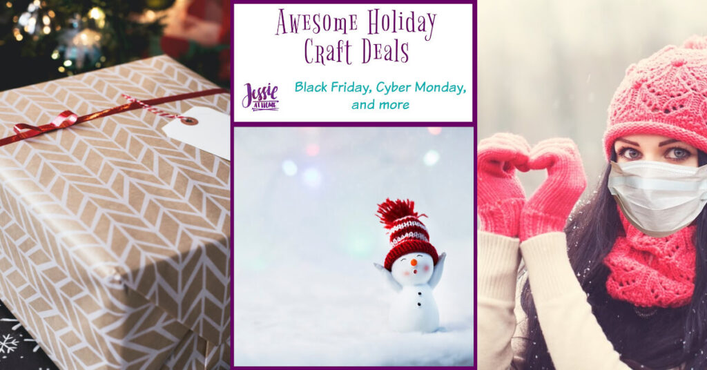 Awesome Holiday Craft Deals compiled by Jessie At Home - Social