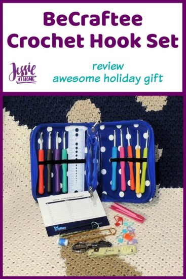 BeCraftee Crochet Hook Set Review by Jessie At Home - Pin 1