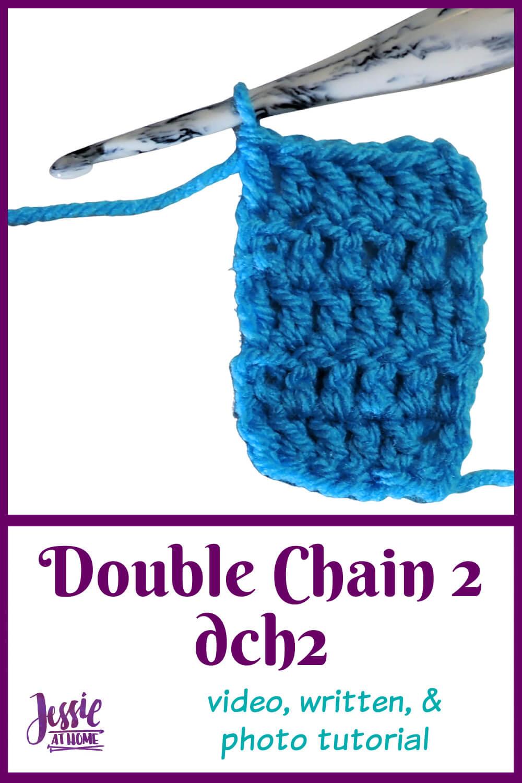 DCH2 Double Chain Two Stitchopedia - Video, Photo, & Written Tutorial