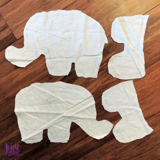 Elihu the Elephant Crochet Pattern by Jessie At Home - Linings Cut Out
