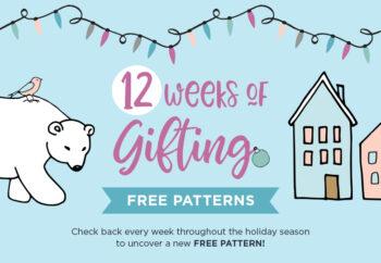 WeCrochet 12 Weeks of Gifting