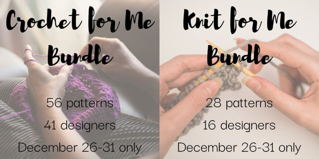 2020 Crochet and Knit For Me Pattern Bundles - Jessie At Home - Social
