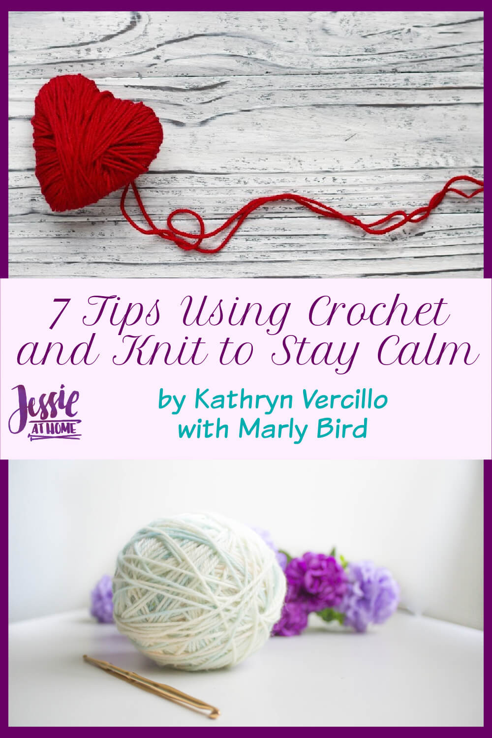 7 Tips for Using Crochet and Knitting to Stay Calm and Centered This Holiday Season