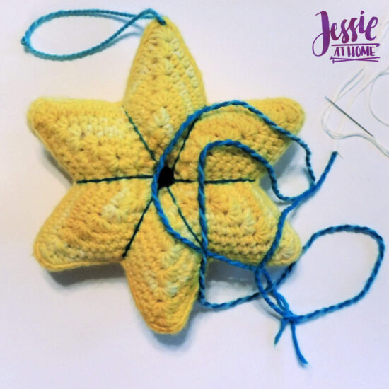 Crochet Holiday Star crochet pattern by Jessie At Home - Decorate
