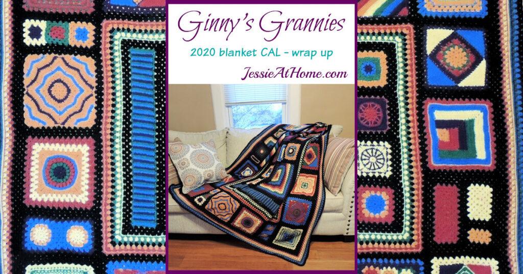 Ginny's Grannies CAL Wrap Up - Social