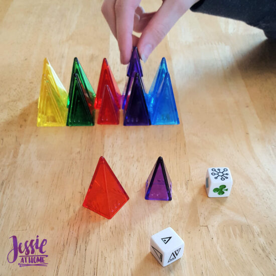 Ice Duo - two games that are great for a quick break - Jessie At Home - Ice Dice