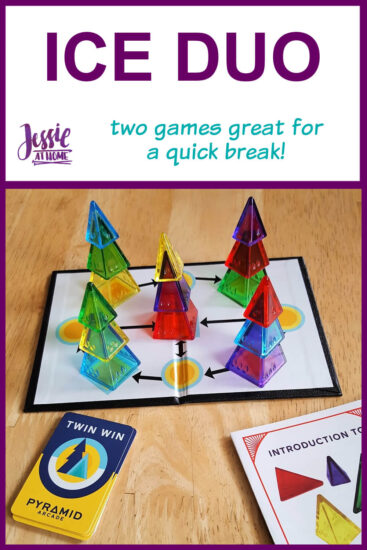 Ice Duo - two games that are great for a quick break - Jessie At Home - Pin 1