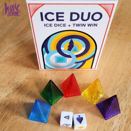 Ice Duo - two games that are great for a quick break - Jessie At Home - Ready for Ice Dice