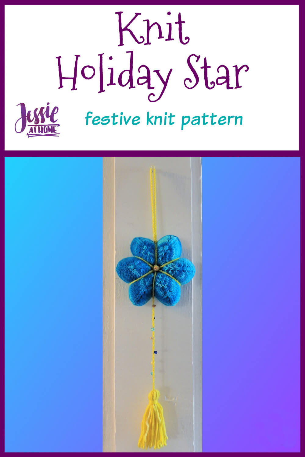 Knit Holiday Star - Shine On This Holiday Season!