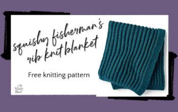 Rib Knit Blanket