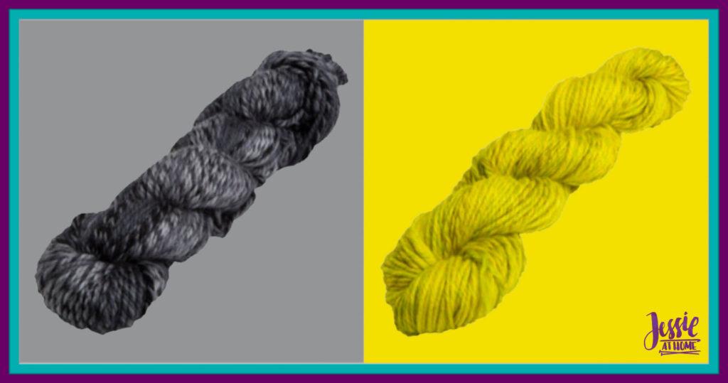 WeCrochet Chroma Twist Bulky - Wednesday & GoGo Boots