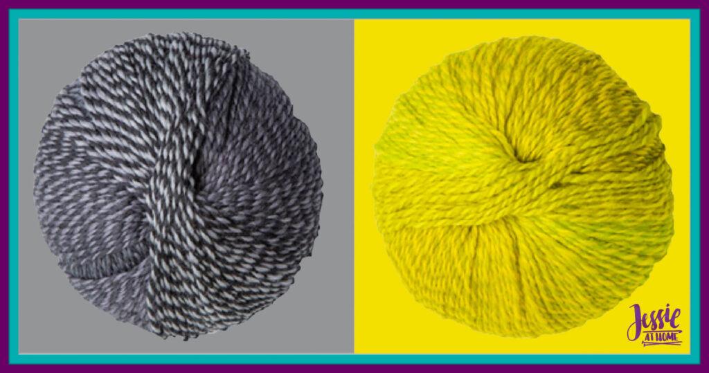 WeCrochet Chroma Twist - Wednesday & GoGo Boots