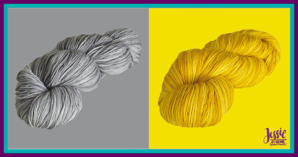 WeCrochet Hawthorne Fingering Kettle Dye - Slate & Compass