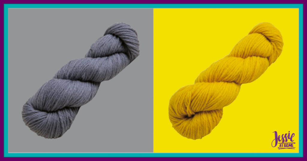 WeCrochet Wool of the Andes Bulky - Mist & Honey