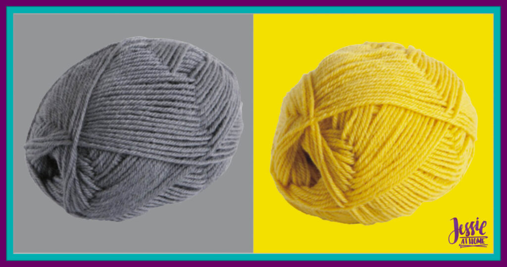 WeCrochet Wool of the Andes Sport - Ash & Semolina