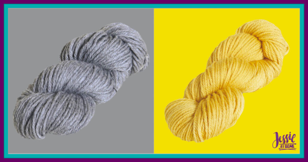 WeCrochet Wool of the Andes Superwash Bulky - Marble Heather & Semolina