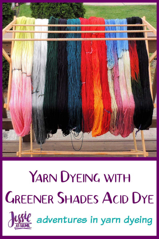 Yarn Dyeing with Greener Shades Acid Dye