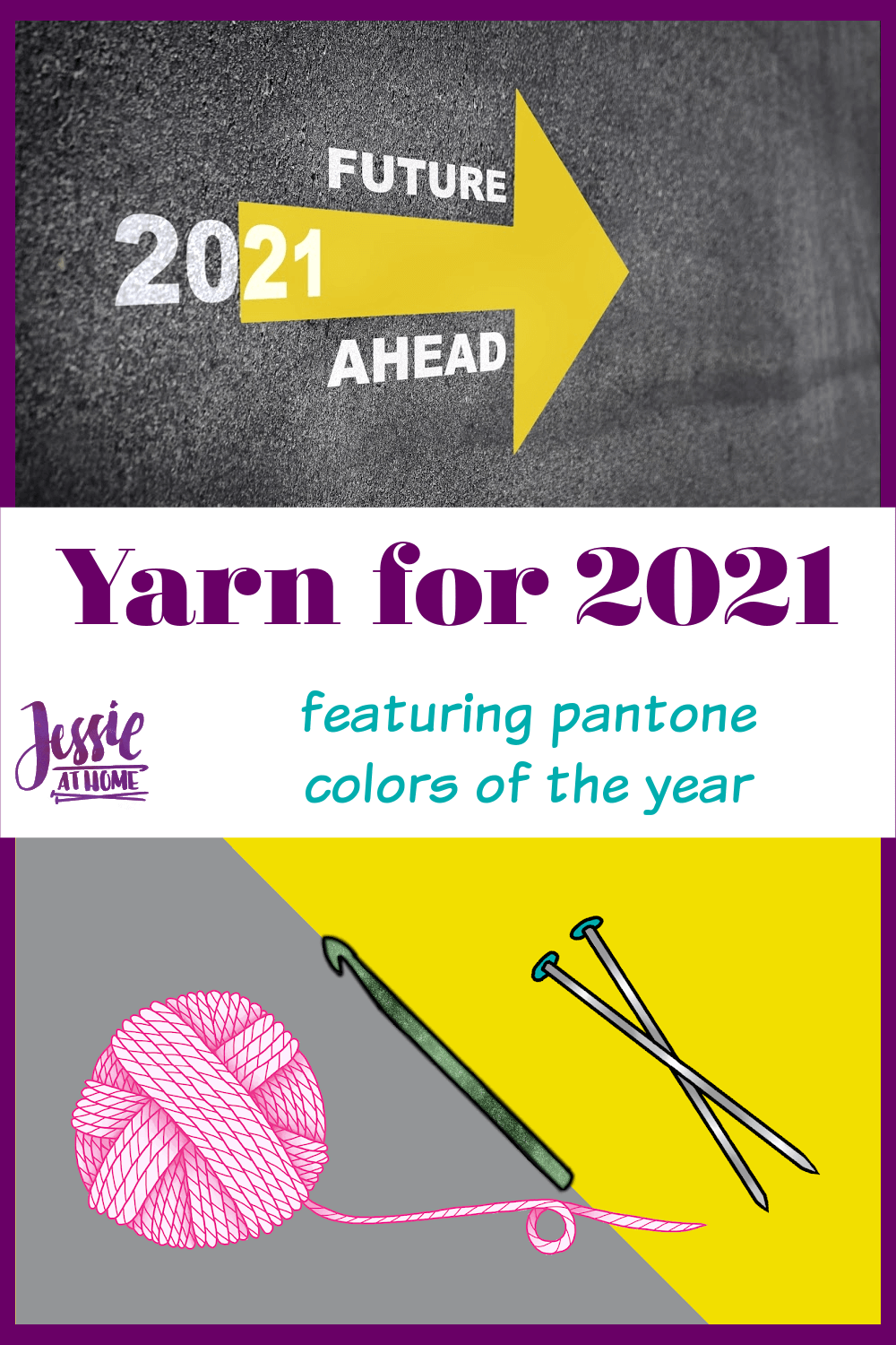 Yarn for 2021 Featuring Pantone Colors of the Year