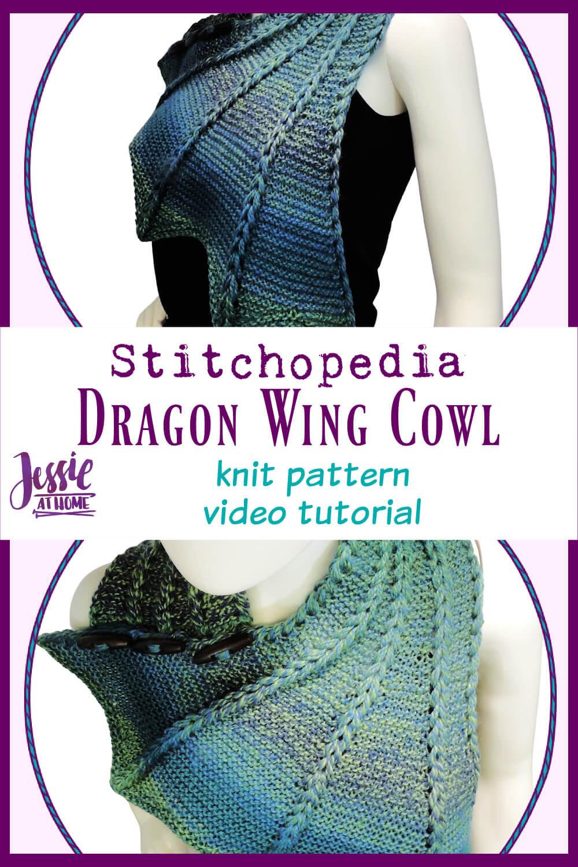 Dragon Wing Cowl Video - Knit Pattern Tutorial