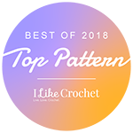 Award Best Crochet Patterns 2018 I Like Crochet