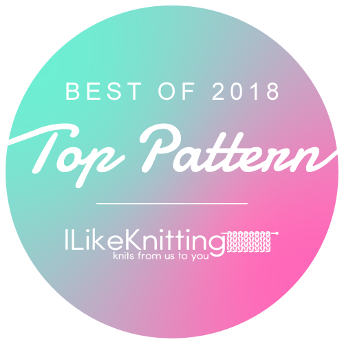 Award - best knitting patterns 2018 ILK