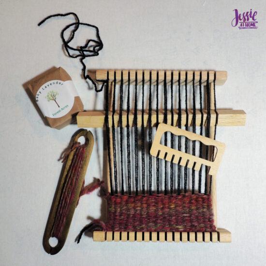 Weaving a Soap Bag