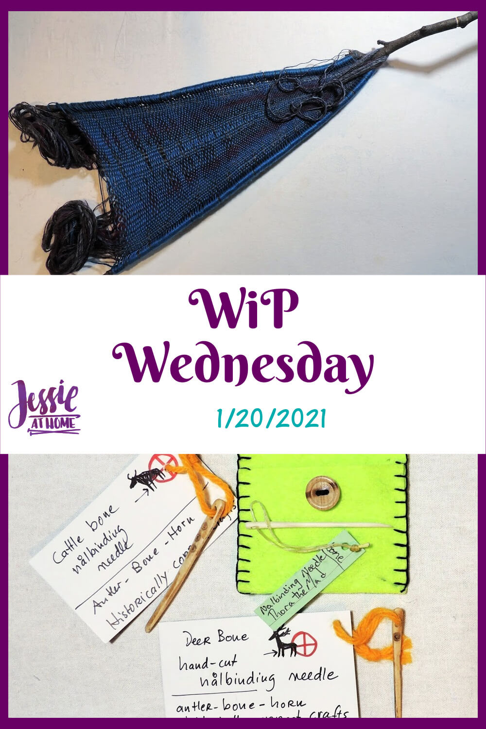 Woven Together: WiP Wednesday 1⋅20⋅2021