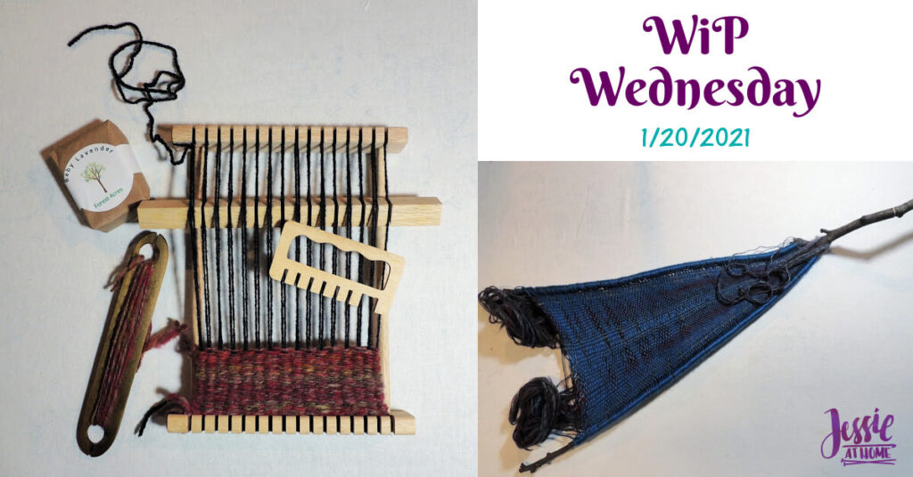 Woven Together - WiP Wednesday 1-20-2021 on Jessie At Home - Social