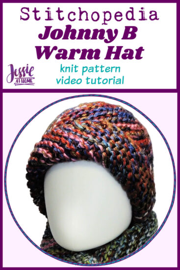Johnny B Warm Hat Stitchopedia Knit Video Tutorial - Pin 1
