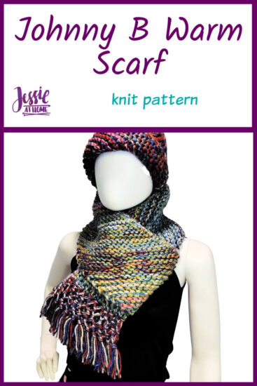 Johnny B Warm Scarf by Jessie At Home - Pin 1