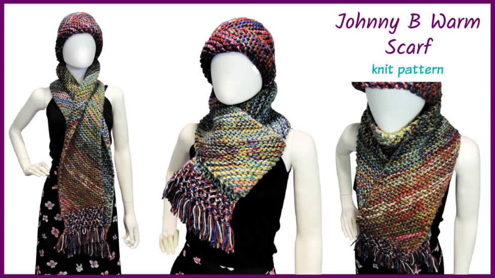 Johnny B Warm Scarf by Jessie At Home - Social