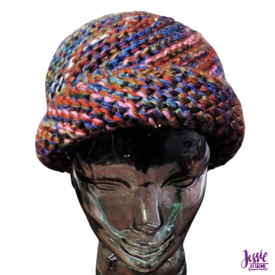 Johnny B Warm knit hat pattern by Jessie At Home - 5