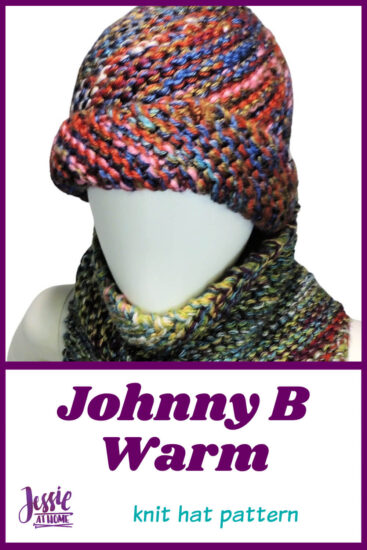 Johnny B Warm knit hat pattern by Jessie At Home - Pin 2