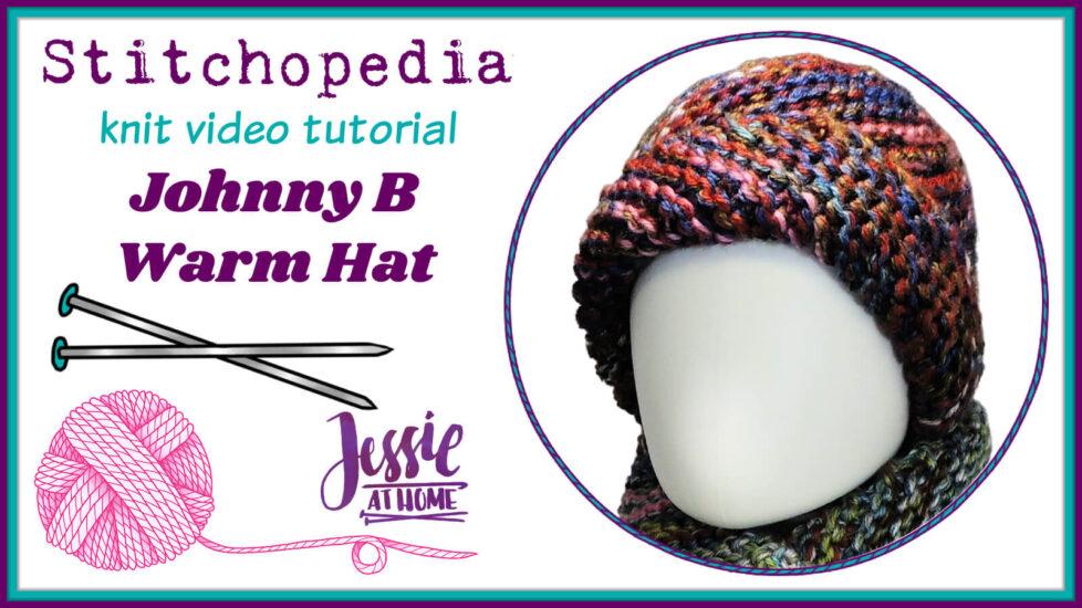 Stitchopedia Knit Video Tutorial - Cover