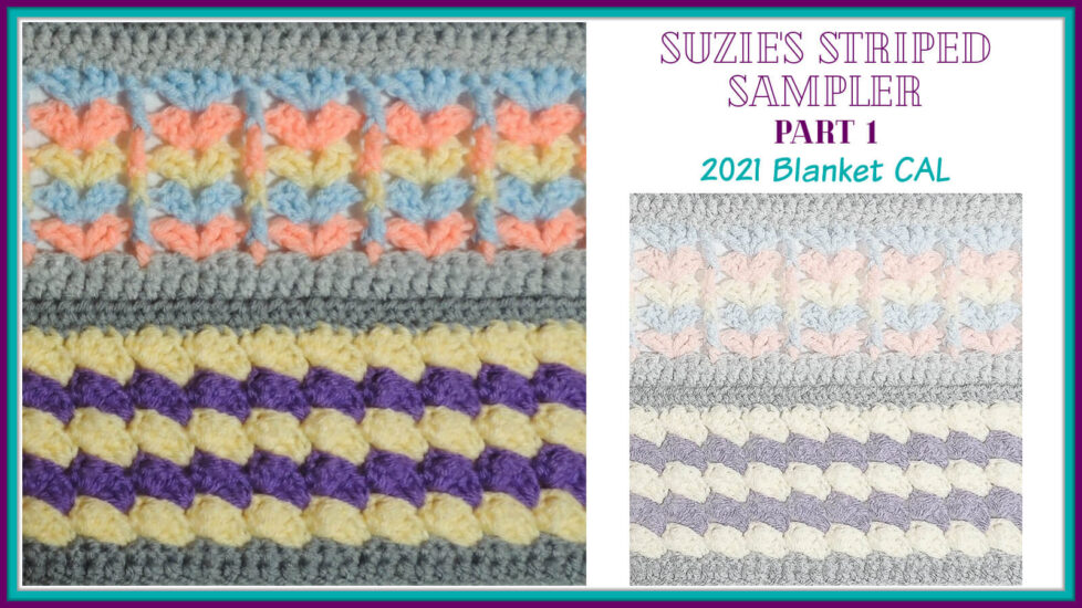 Suzie's Striped Sampler Part 1 by Jessie At Home - Social
