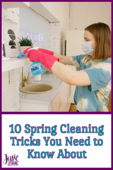 10 Spring Cleaning Tricks You Need to Know About on Jessie At Home - Pin 2